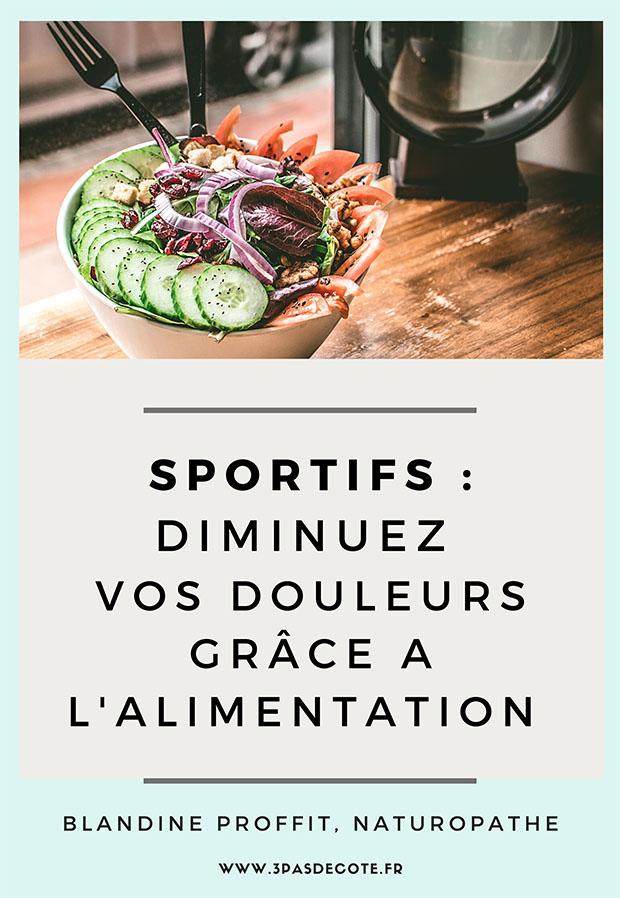 Nouvel e-book : sportifs, diminuez vos douleurs grâce à votre alimentation !